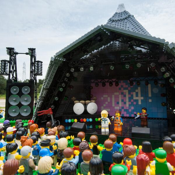 LEGO Glastonbury Dolly