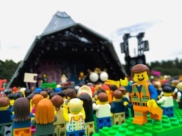 See Emmett get awesome at Glastonbury!