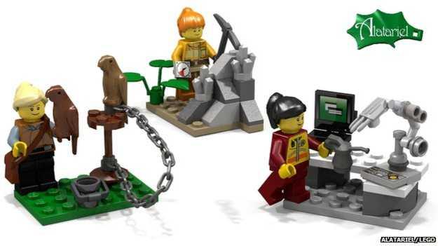 LEGO females 2