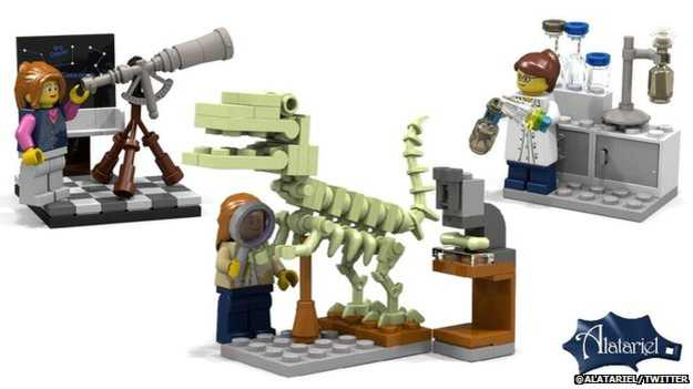 LEGO female scientists release this August