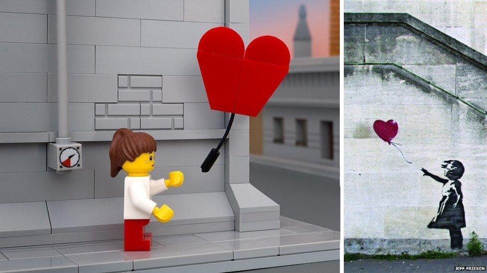 Lego Banksy 01