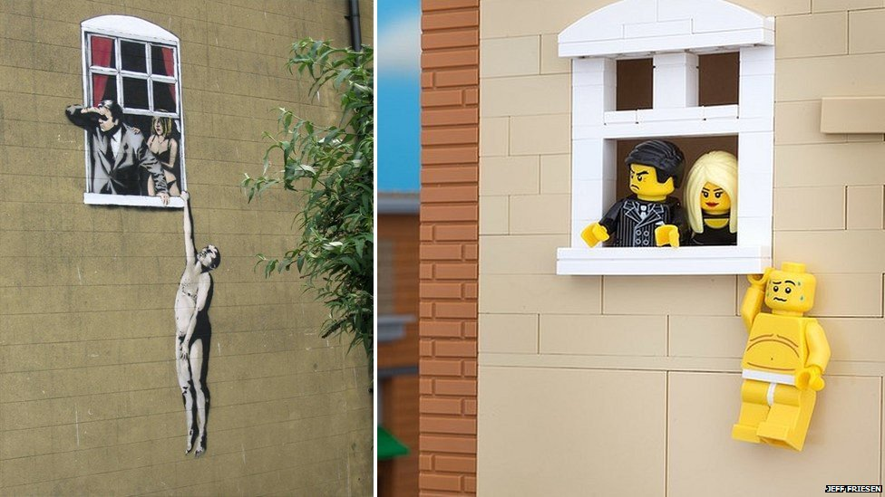 Lego Banksy 02