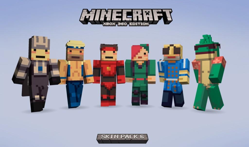 New Skin Pack Brings Super Time Force To Minecraft BoxMash - Skins para minecraft wii u