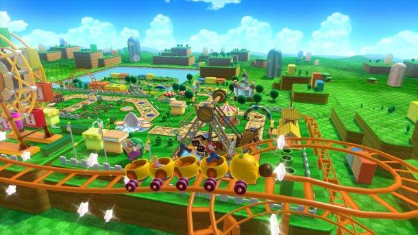 Bowser crashes Mario Party 10