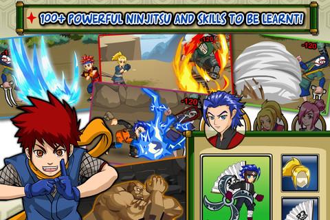 iOS App of the Day: Ninja Saga
