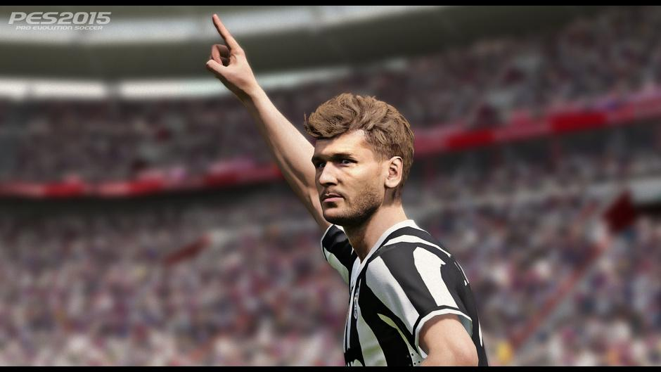 New PES 2015 screenshots show off new graphics