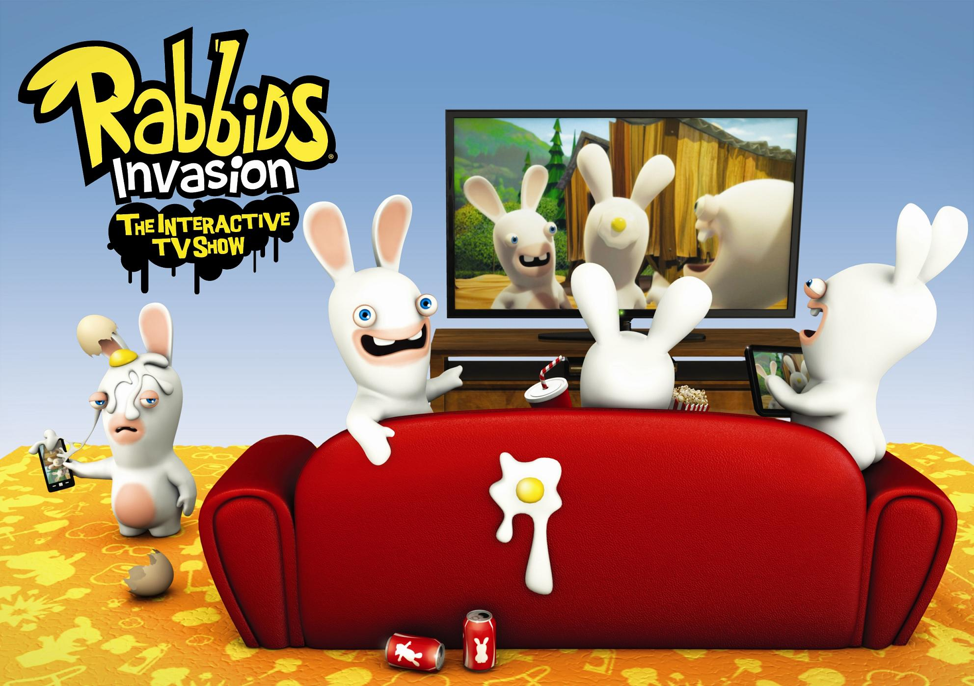 Check out the trailer for Rabbids Invasion Interactive TV Show