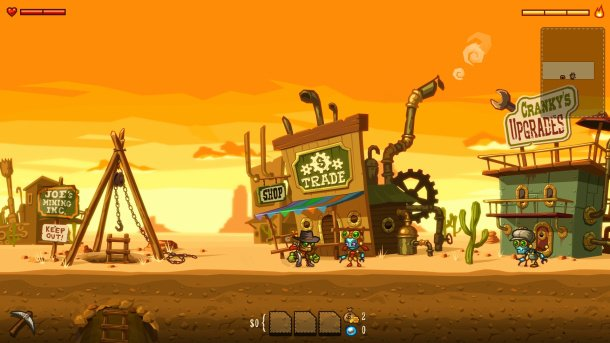 Steamworld Dig on its way to Wii U