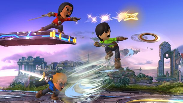 Why you can play as a Mii in Super Smash Bros.