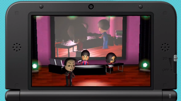 Watch Nintendo's E3 reveals recreated in Tomodachi Life!