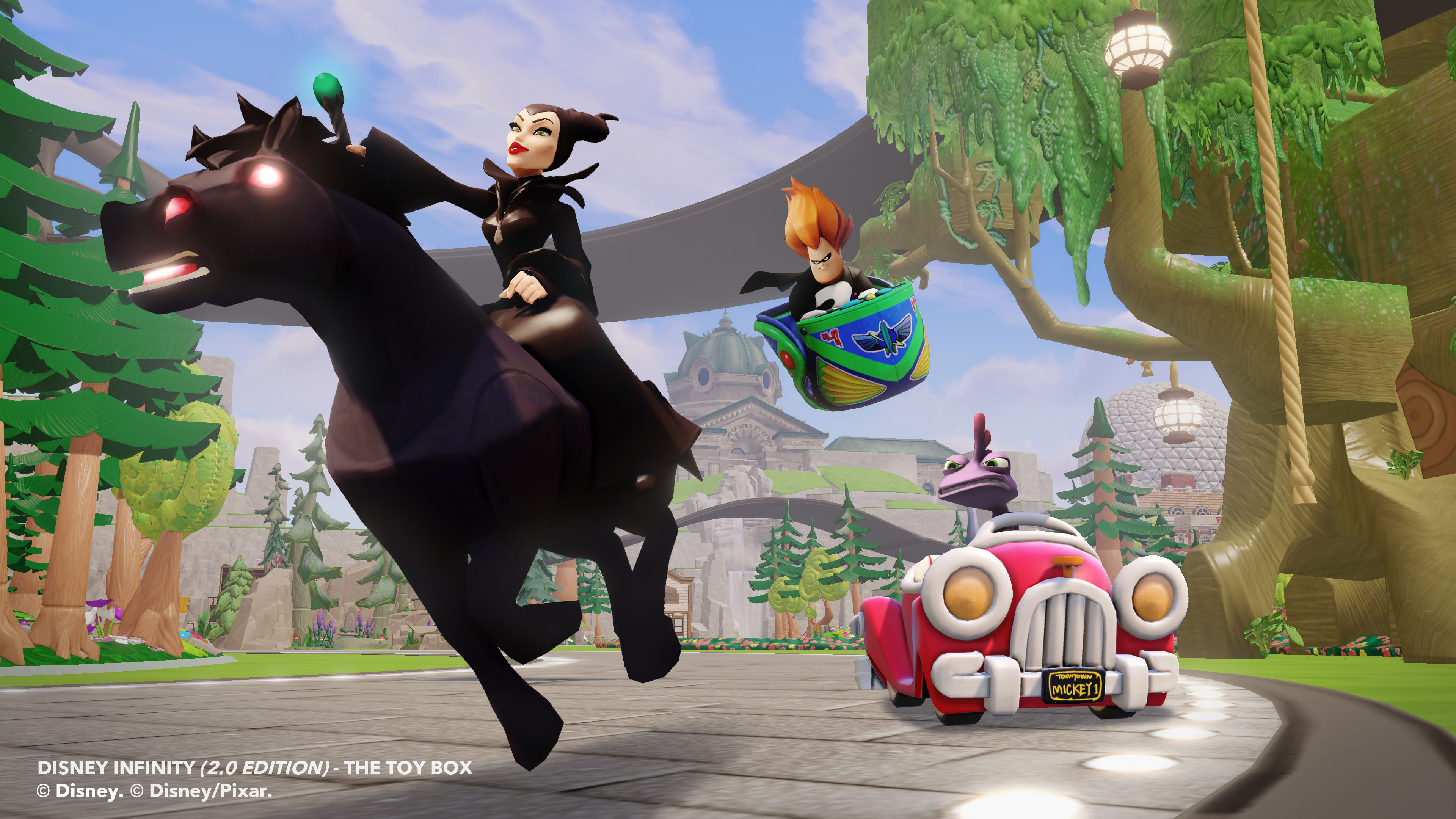 Merida and Maleficent on board for Disney Infinity 2