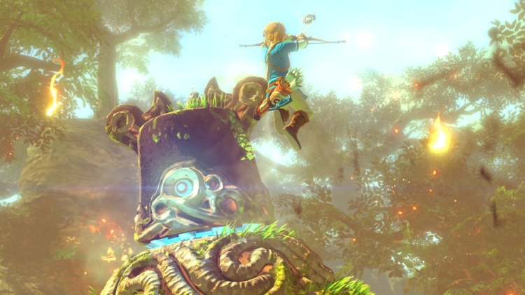 New Zelda Wii U video reveals the open world