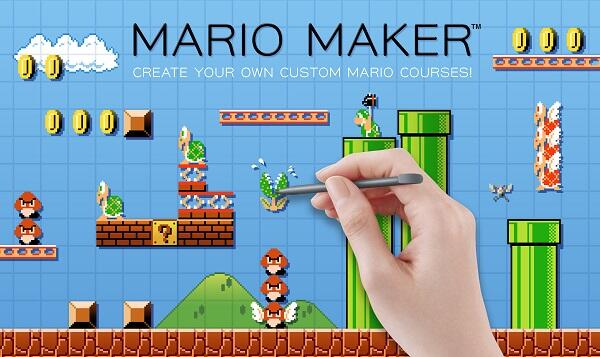 Make your own Mario games in Mario Maker!