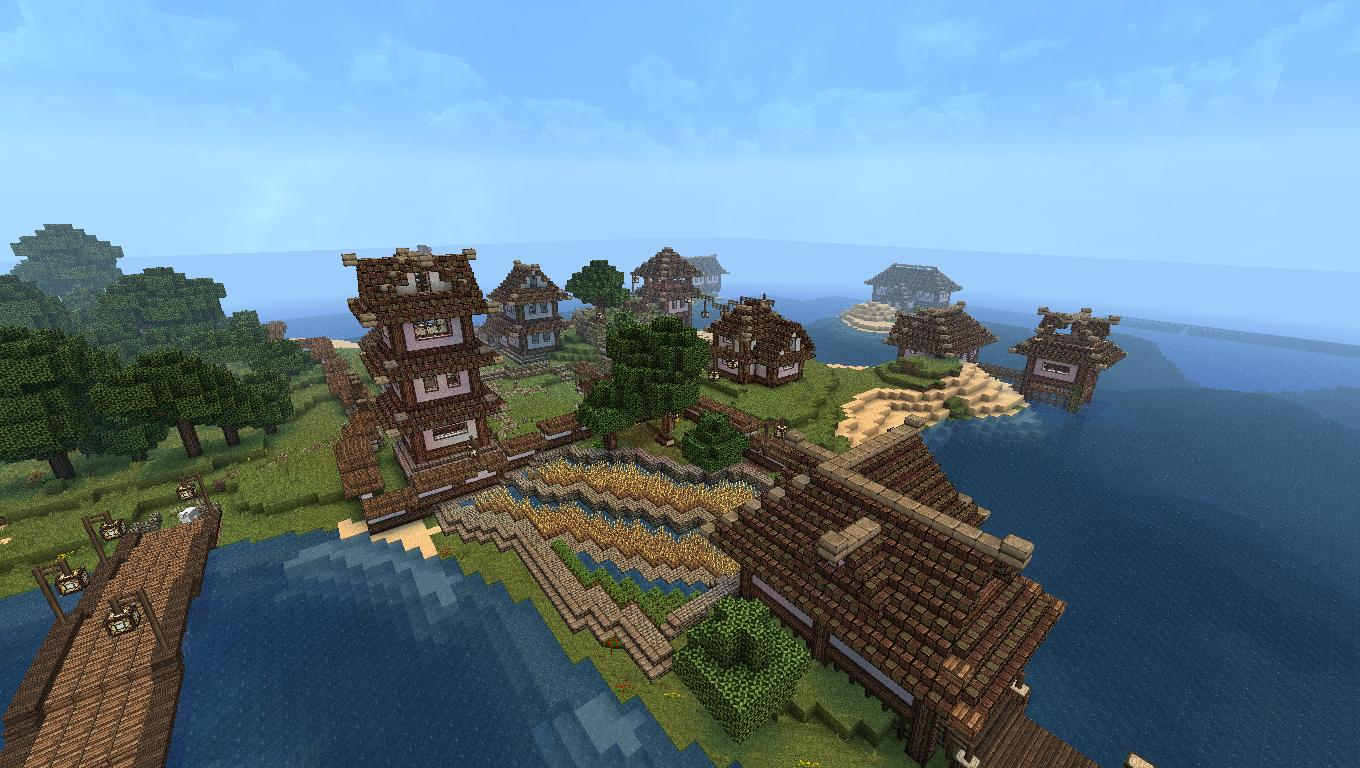 Aerna is the biggest Minecraft world ever