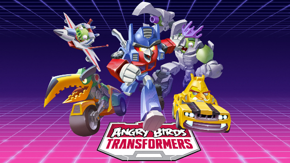 Autobirds and Deceptihogs team up in Angry Birds Transformers