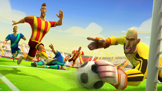 iOS App of the Day: Disney Bola Football