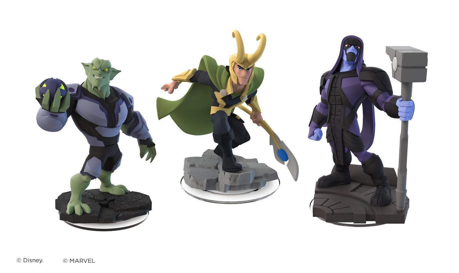 Loki, Green Goblin, and Ronan invade Disney Infinity 2.0