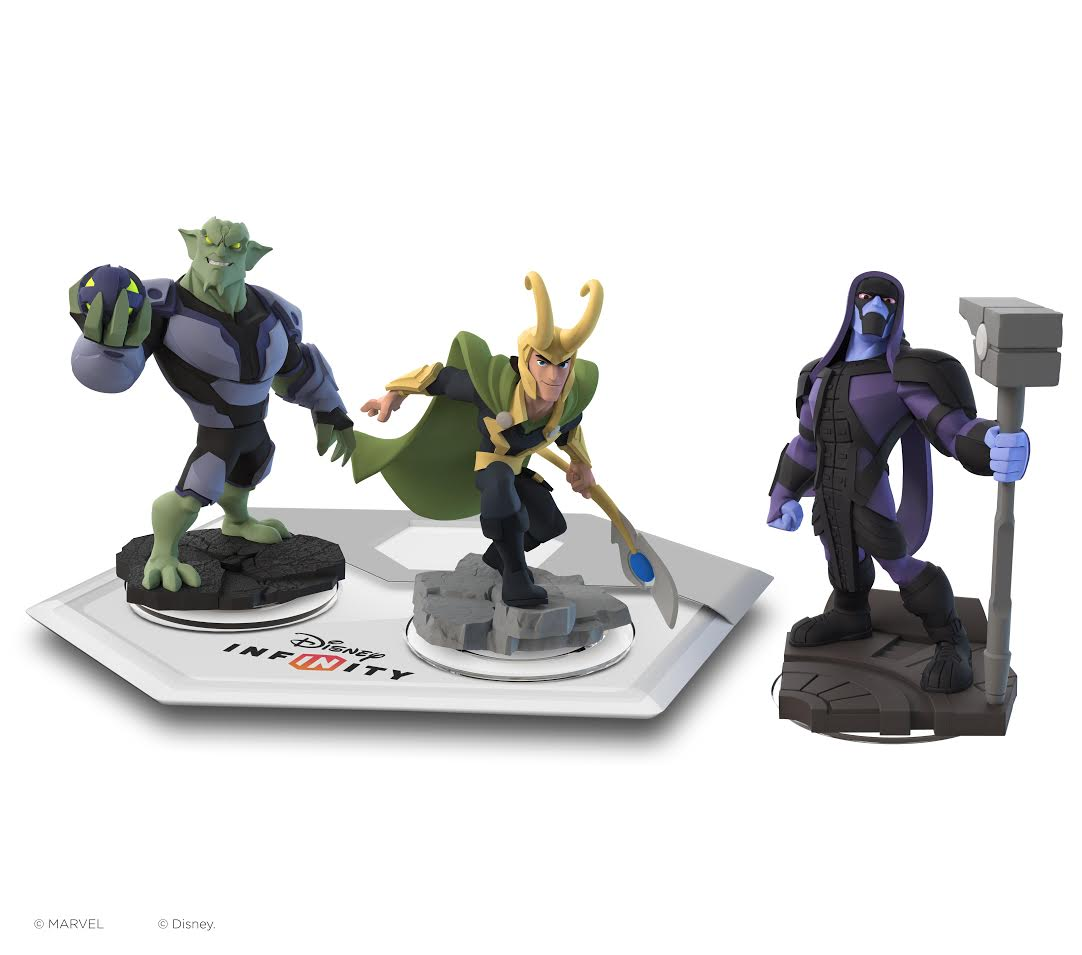 Green Goblin, Loki, and Ronan the Accuser join Disney Infinity 2.0's rogues gallery.
