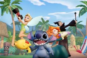 Disney Infinity Stitch Tinker Bell