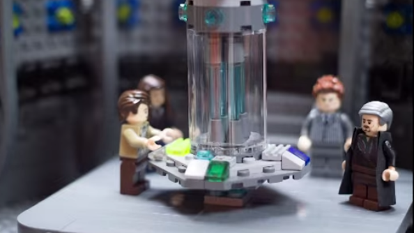doctor whos day of the doctor episode recreated with lego