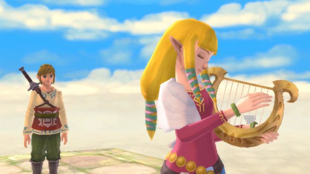 Hyrule Warriors Skyward Sword