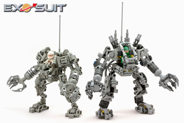 Awesome Exo Suit is the best LEGO kit this year