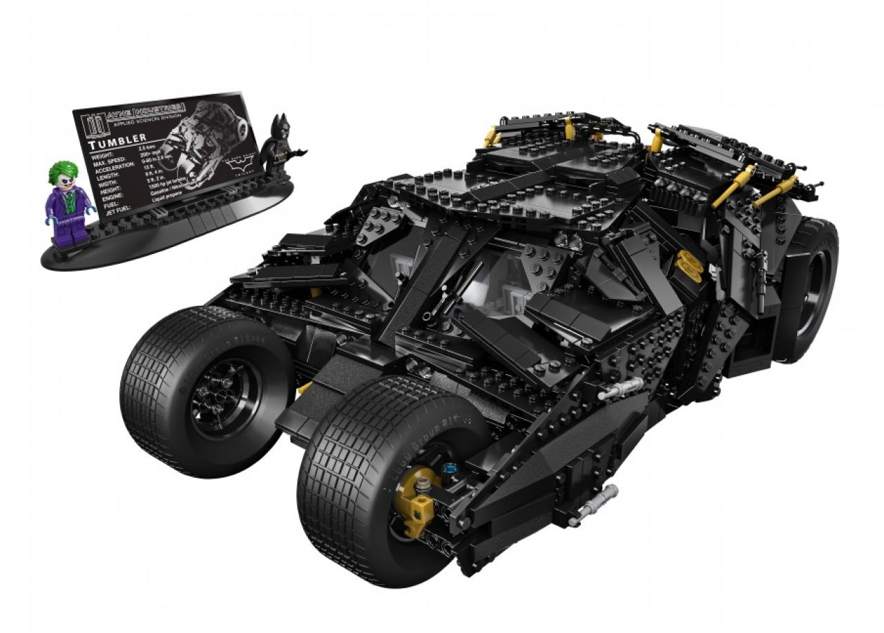 LEGO Batman Tumbler Batmobile looks awesome