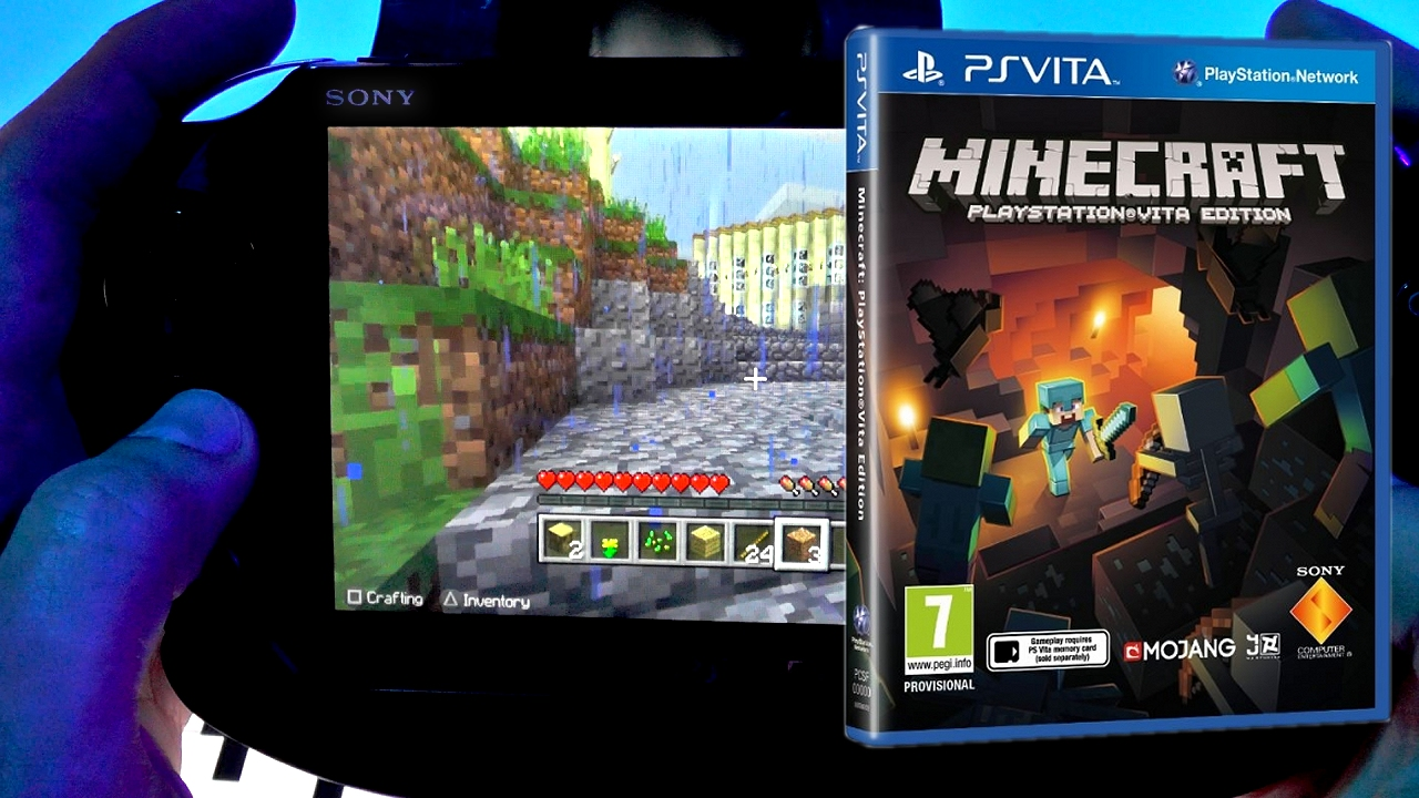 Minecraft on PS Vita is the real deal
