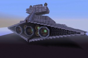 Minecraft Star Destroyer