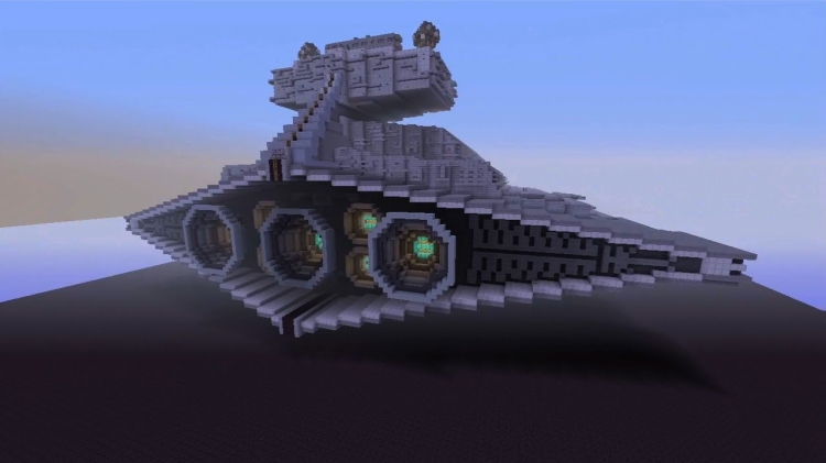 Star Wars film is recreated in Minecraft!