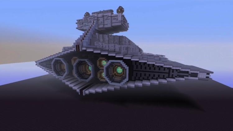 Star Wars film is recreated in Minecraft!