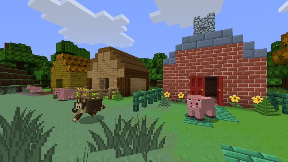 Minecraft cartoon skin 02