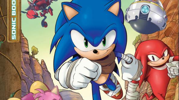 Sonic Boom comics revealed!