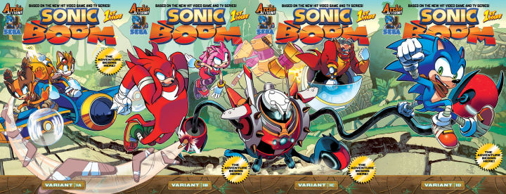 SonicBoom covers