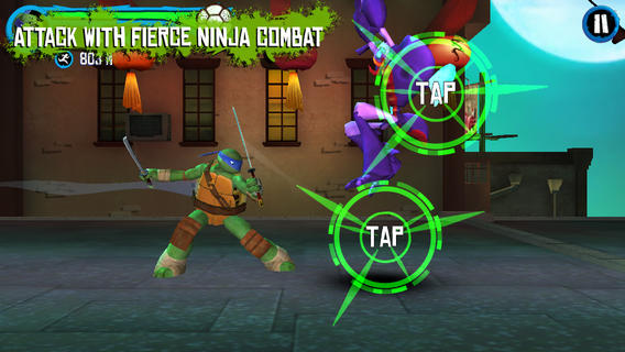 iOS App of the Day: TMNT Rooftop Run