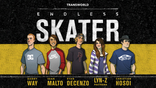 iOS App of the Day: Transworld Endless Skater