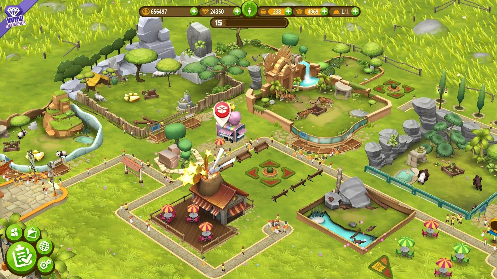 Zoo Tycoon Friends lets you play with animals on the bus