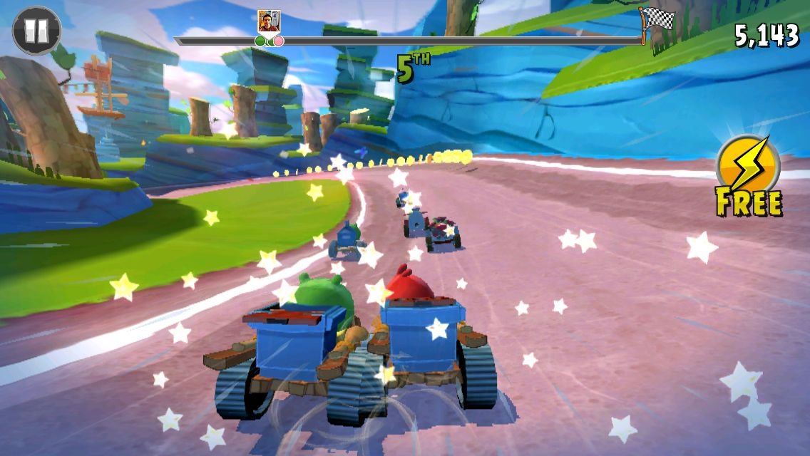 Angry Birds Go! gets competitive with online multiplayer