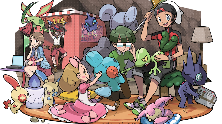 Pokémon Omega Ruby & Alpha Sapphire will have secret bases!