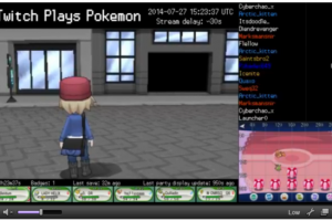 twitch plays pokemon x