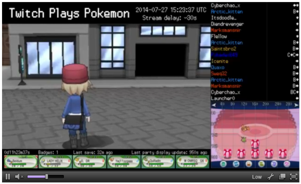 Twitch Plays Pokémon takes on X & Y