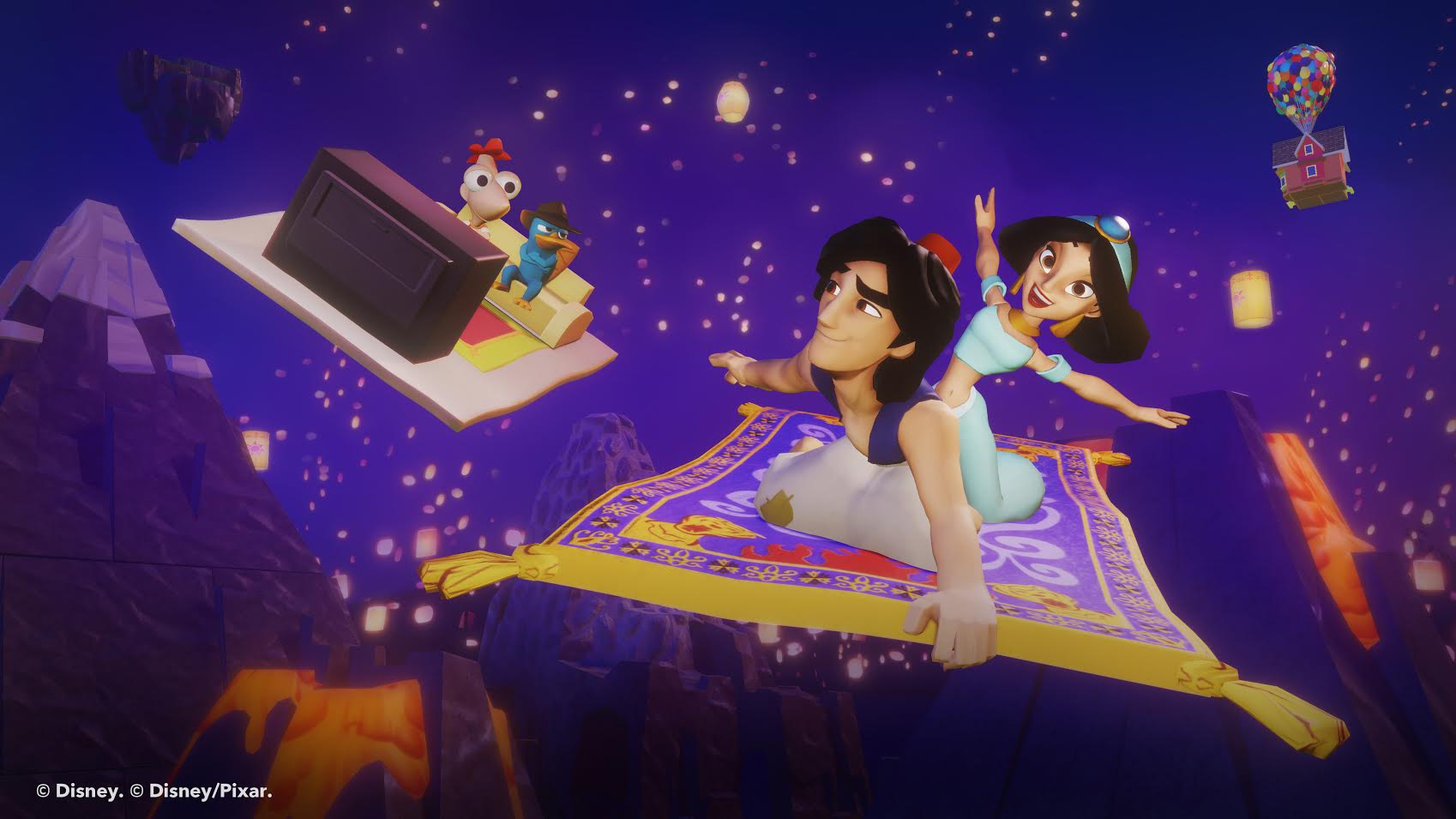 Aladdin and Jasmine bring a whole new world to Disney Infinity