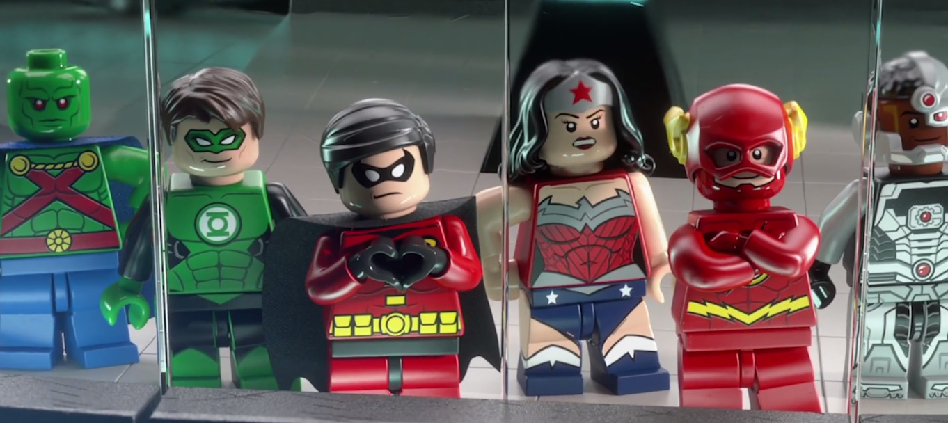 LEGO Batman 3 explores the Lantern worlds
