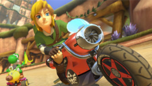 Zelda and Animal Crossing join Mario Kart 8