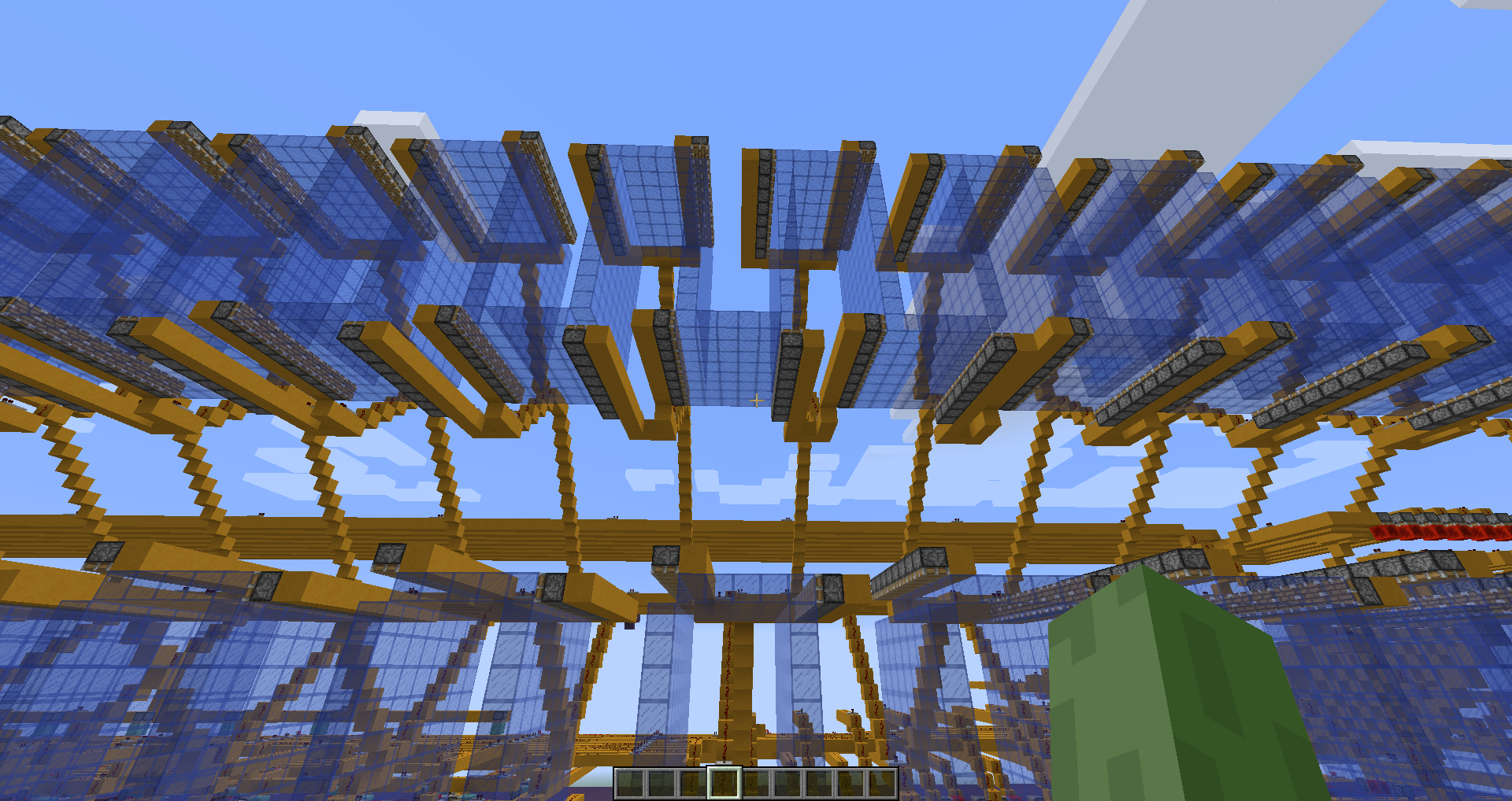 Student makes amazing working hard-drive in Minecraft!