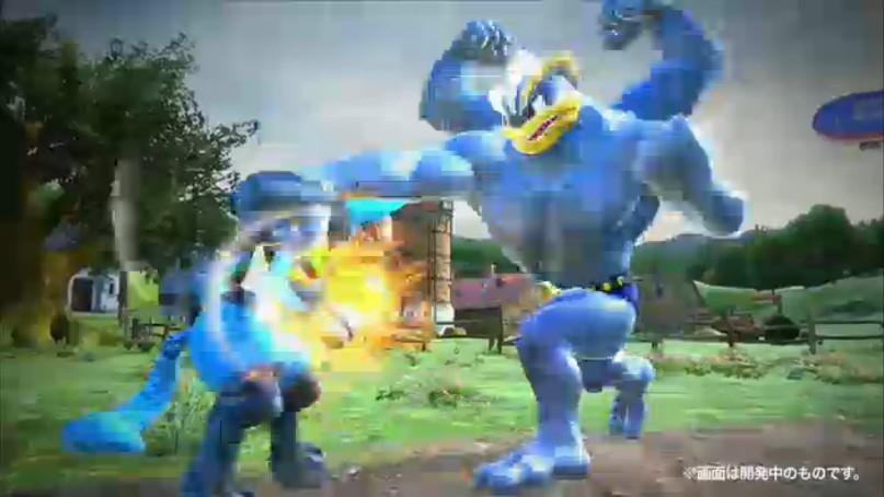 Pokken is Pokémon crossed with Tekken