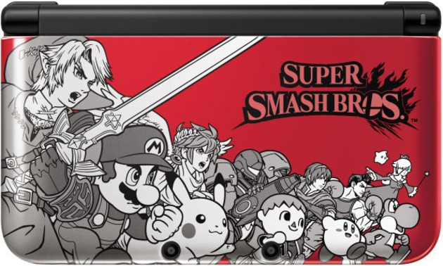 Limited edition Super Smash Bros. 3DS looks rad