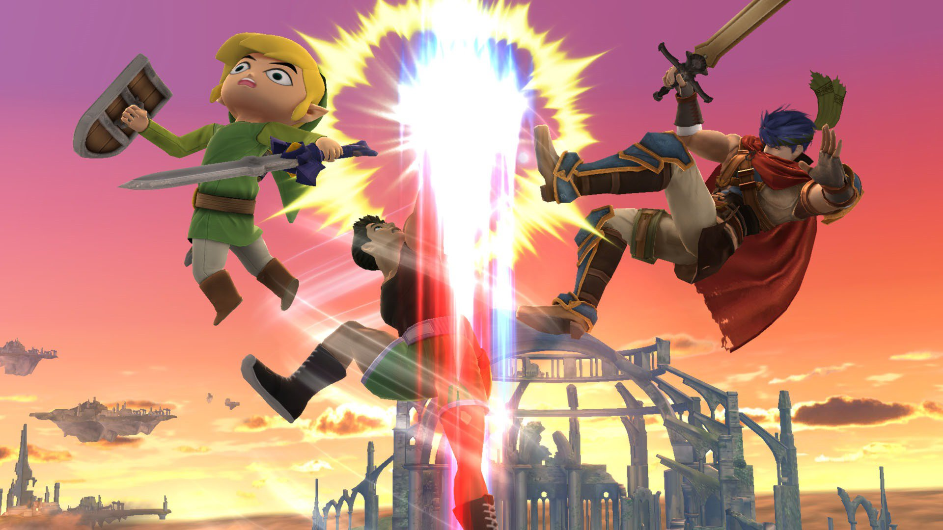 All new Super Smash Bros. screenshots show epic punch-ups
