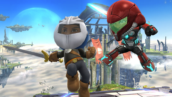 Super Smash Bros. lets you dress up your Mii as Nintendo characters