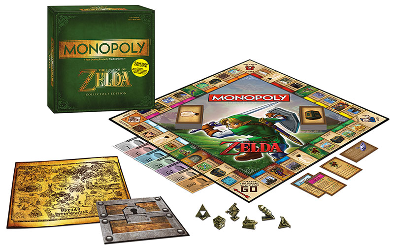 Zelda Monopoly board is awesome